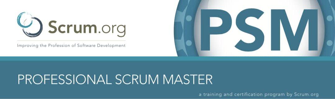 preparar el examen de professional scrum master certificacion PSM I