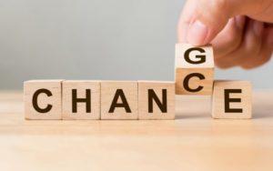 Barra libre de opciones para gestionar el cambio